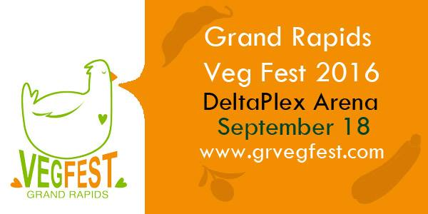 Welcome from Grand Rapids VegFest!